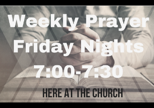 Feb 21st- Friday Night Prayer